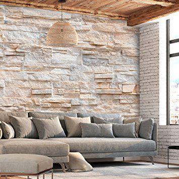 Murando Fototapete Steinoptik 400x280 Cm Vlies Tapete Moderne Wanddeko Design Tapete Wandtapete Wand Dekoration Wall Treatments Home Decor Decor