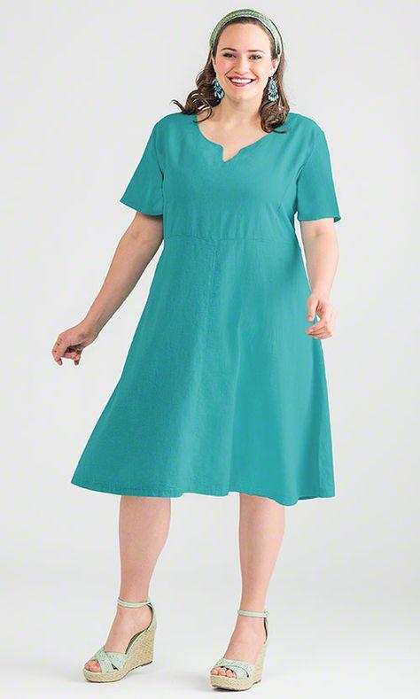 Linen Dress Mib Plus Size Fashion For Women Cute Plus
