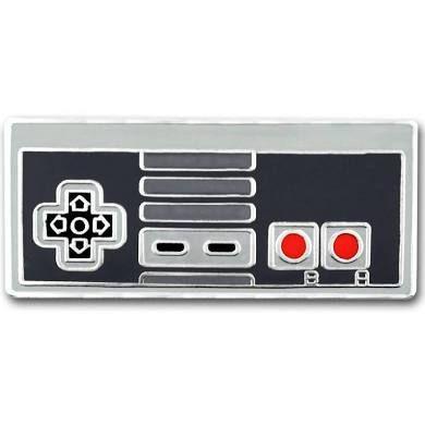 PinMart Retro Video Gaming Original Controller Enamel Lapel Pin Set