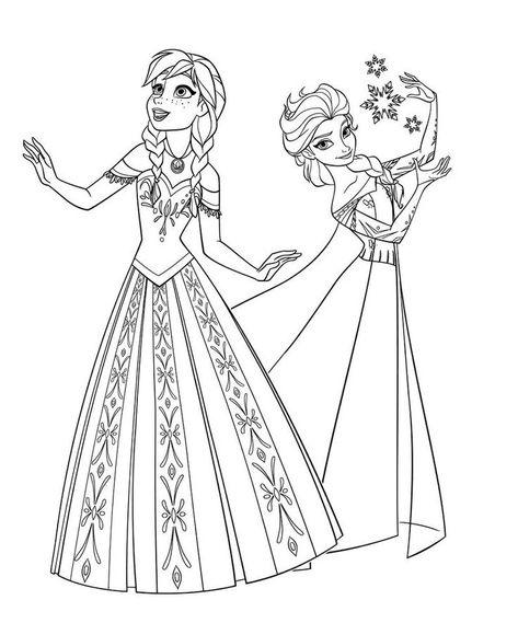 Ausmalbilder Kostenlos Disney Eingefroren Farbung Seite 5