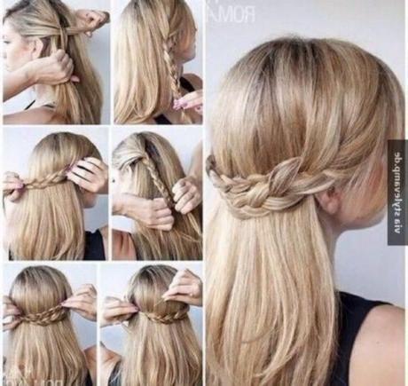 Einfacher Frisurenhochzeitsgast Melanie Schumacher Einfacher Frisurenhochzeitsgast Melanie Sch Haarband Frisur Festliche Frisuren Frisuren Glatte Haare
