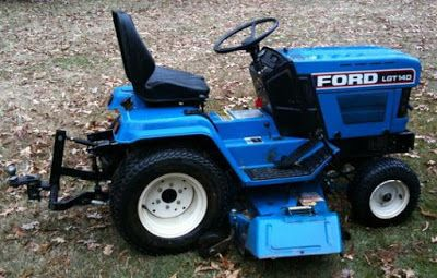 New Holland Ford Lgt14d Lgt16d Diesel Lawn Garden Tractor Mower