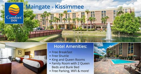 Comfort Inn Maingatethe Comfort Inn Maingate Hotel In Kissimmee