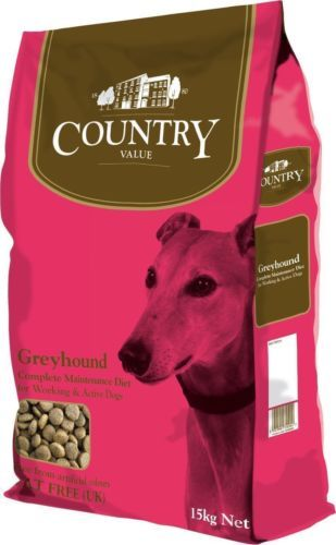 Burgess Country Value Greyhound Complete Dry Dog Food 15kg Dogfood