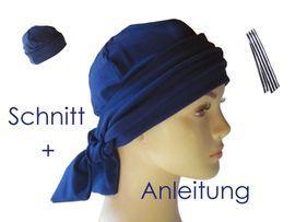 Schnittmuster Band Mütze Für Alopecia Chemo Von Lunicum Kopfbedeckung Chemo Schnittmuster Mütze Selber Nähen