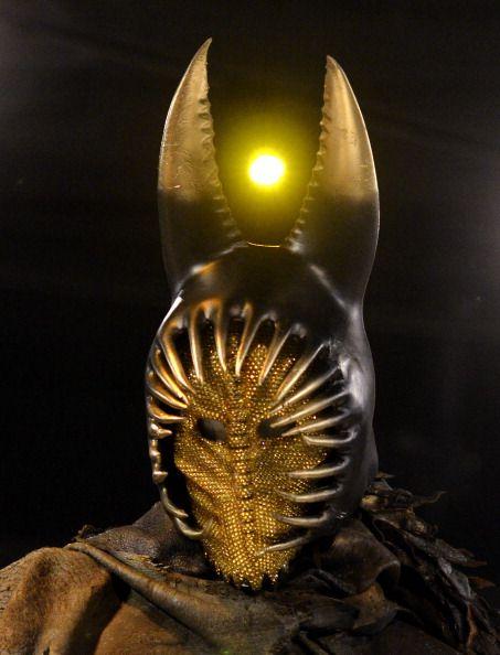Immortals. Hyperion's mask and helmet. Created by Eiko Ishioka