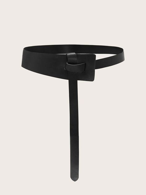 To find out about the Knot Decor Skinny Belt at SHEIN, part of our latest Belts ready to shop online today! Leather Art, Leather Belts, Leather Jewelry, Ropa Upcycling, Leather Accessories, Women Accessories, Ceinture Large, Corset Belt, Skinny Belt