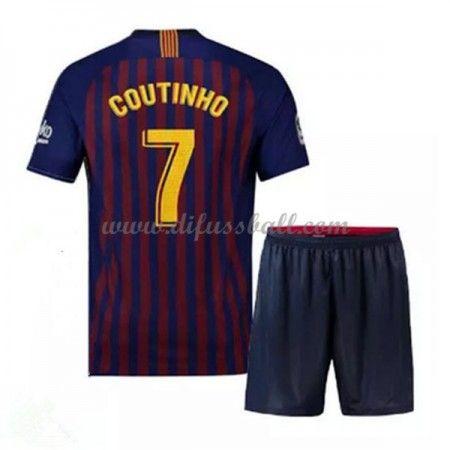 Barcelona Fussballtrikots Kinder 2018 19 Philippe Coutinho 7