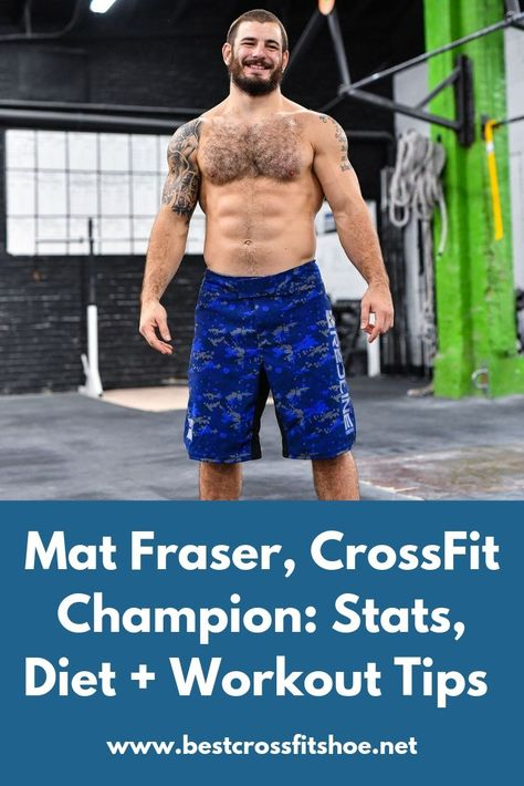Matthew Fraser: From Weightlifting to CrossFit is about Fraser's big switch from weightlifting to CrossFit where, he won three awards.