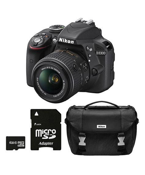 Another great find on #zulily! Nikon D3300 24.2 MP DSLR Camera by Nikon #zulilyfinds