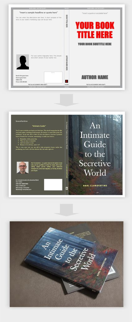 Now Create Your Book Covers in Microsoft Word with Book Design - booklet template microsoft word
