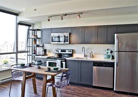 Kitchen Layouts: 10 Single Wall Kitchen Inspirations | One ... on single wall kitchen with island, single wall galley kitchen, single wall kitchen ideas,