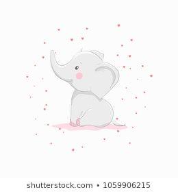 Imagens, foto stock e imagens vetoriais similares de Hand Drawn Vector Illustration Cute Baby - 1287496936 | Shutterstock