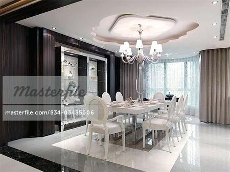 Encouraging White Modern Dining Room Sets Images Luxury White