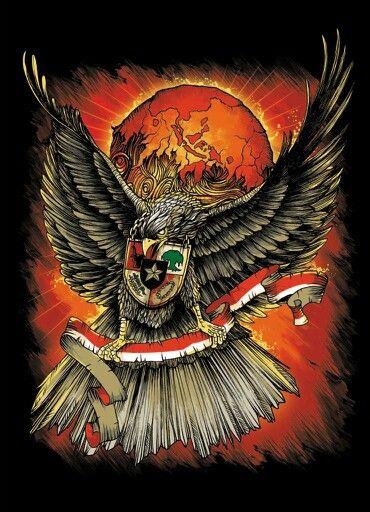 Garuda Vector Art : garuda, vector, Garuda, Ideas, Indonesian, Artwork