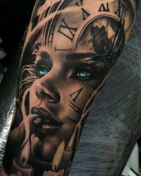 #Tattoos,portrait tattoos