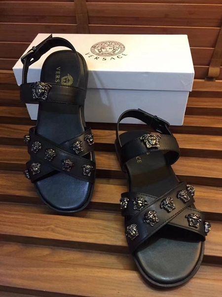Versace men, Versace shoes, Sandals