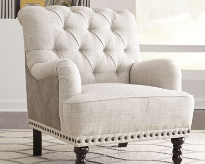 Tartonelle Accent Chair Ivory Taupe Accent Chairs For Living