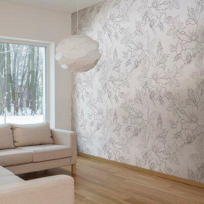 Latitude Run Huyett Removable Peel And Stick Wallpaper Panel In 2021 Wallpaper Panels Peel And Stick Wallpaper Wallpaper Accent Wall