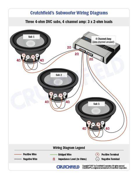 diagram 4 ohm subwoofer wiring diagram full version hd