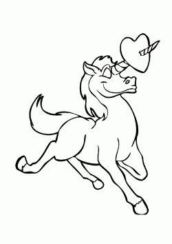 At Boyama Sayfası Horse Coloring Pages Página Para Colorear De
