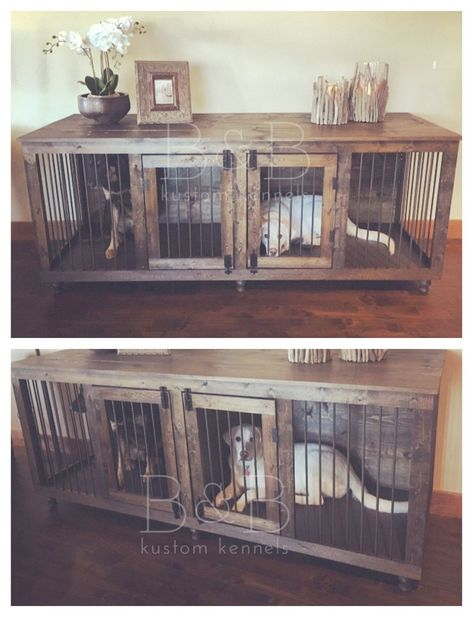 Crown Pet Products Wood Pet Crate End Table The Furniture Blogger Dog Crate Furniture Dog Rooms Dog House Diy