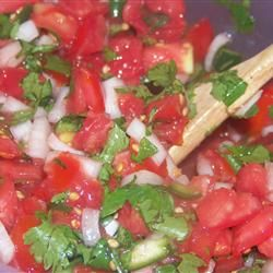 This was the best salsa EVER! I used fresh everything out of my greenhouse, including the cilantro. REPIN