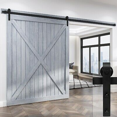 Roymelo 10 12 13 2ft Classic Sliding Barn Door Hardware Sliding Barn Door Hardware Barn Door Hardware Garage Door Design