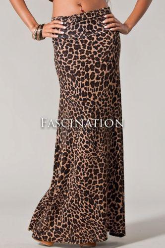 c1a687dfe72504 Calvin Klein NEW Full Tilt Animal Print Maxi Skirt Calvin Klein |NEW| Full  Tilt Animal Print Rayon Knit Long Maxi Skirt XL Maxi skirt…