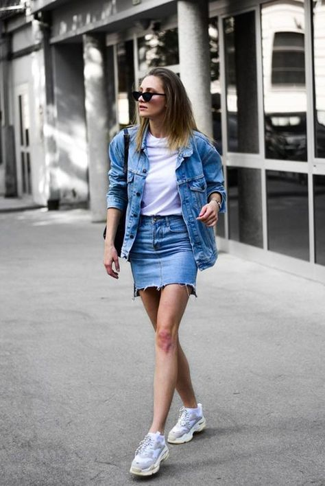 70 Younger Looks With Double Denim Ideas 49