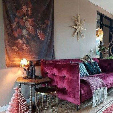 Lovely Colourful Sofa Ideas 02 Velvet Sofa Living Room Sofa Design Sofa Colors