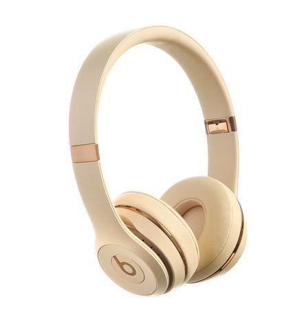 Beats By Dr Dre Beats By Dr Dre Beats Solo3 Wireless Headphones Satin Gold Wireless Headphones Headphones Beats Solo