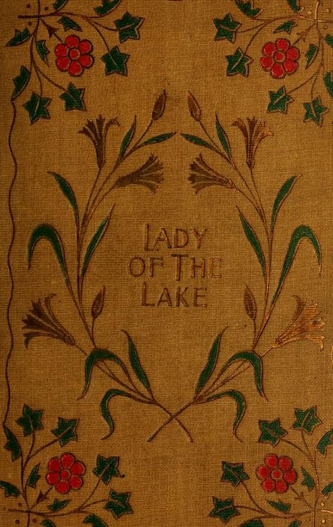 La dame du Lac - All about books for our readers - Vintage Book Covers, Vintage Books, Old Books, Antique Books, Book Design, Cover Design, Beautiful Book Covers, Book Aesthetic, Book Cover Art