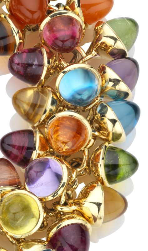 Colourful multi gem bracelet by Tamara Comolli - good enough to eat!