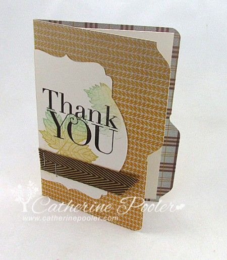 Envelope Punch Board File Folder Tutorial  http://catherinepooler.com/2013/09/envelope-punch-board-file-folder-video-tutorial/  #stampinup