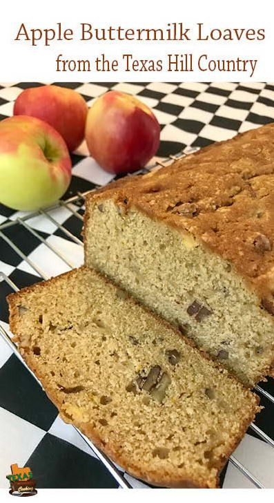 Apple Buttermilk Loaves Recipe Food Recipes Loaf Recipes Food