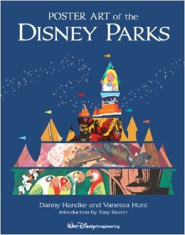 Poster Art of the Disney Parks (A Disney Parks Souvenir Book) by Daniel Handke, Vanessa Hunt, Tony Baxter $50.00 Poster Art of the Disney Parks is a tribute to posters for attractions from rides to shows to snacks. which begin telling the story of each attraction even before Guests have entered the queue area. Disney attraction posters have been an important means of communication since Disneyland began displaying them in 1956