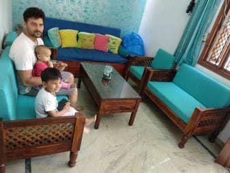 Wooden Sofa Set Furniture Under 20000 Wooden Sofa Set Wooden Sofa Sofa Set Online