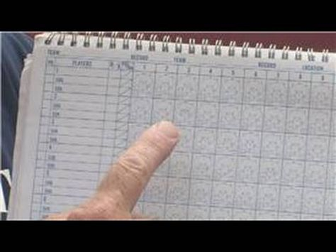 How to Use a Baseball Scorebook Sports drills and coaching - baseball scoresheet