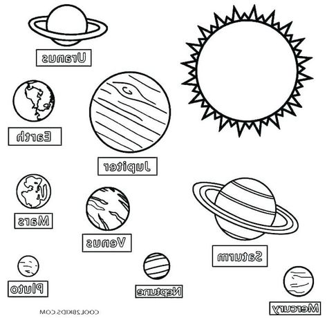 solar system coloring pages - 473×460