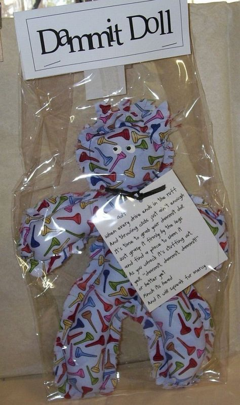 Golf Dammit Doll | Gifts for Giving | Pinterest