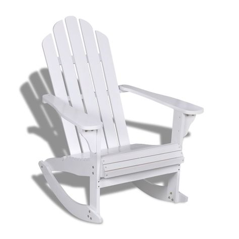 Schaukelstuhl Relaxstuhl Stuhl Hartholz Sessel Gartenmobel