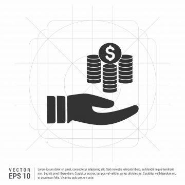 손 잡고 돈을 아이콘 아이콘 돈 손 Png 및 벡터 에 대한 무료 다운로드 아이콘 손 손 잡고