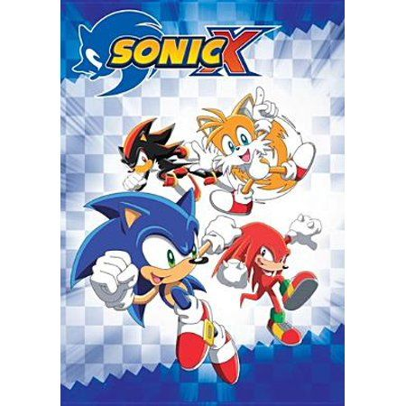 Sonic X Complete Seasons 1 2 Dvd Walmart Com Sonic Sonic And Amy Coloring Books
