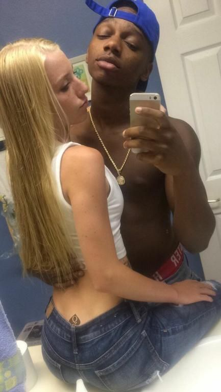 Black Guy Skinny White Girl