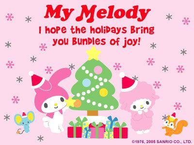 My Melody Birthday E Card My Melody Photo My Melody