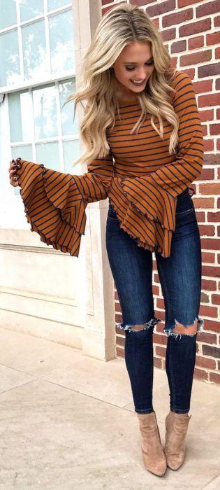 29+ Formas de Combinar tus Outfits Café para lucir con