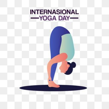 International Yoga Day With Exercise Stretching Woman Yoga Vector International Png And Vector With Transparent Background For Free Download Yoga Day International Yoga Day Flexibility Workout
