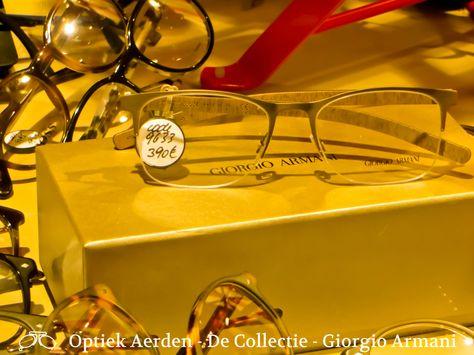 Met absolute klasse en verfijning, Giorgio Armani nooit falen om ons te presenteren met luxe aanbod. Giorgio Armani past elke stijl. Het maken van een statement met zijn aandacht voor detail en het gebruik van hoogwaardige materialen, Giorgio Armani Eyewear bereikt dezelfde erkenning als de kledinglijn. Als iemand de kunst van slimme elegantie en ingewikkelde detail onder de knie heeft, zou het dit merk. De Giorgio Armani Eyewear Collectie van Optiek Aerden.
