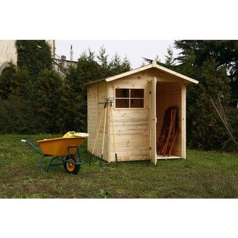 Casetta in legno da giardino per ricovero attrezzi c200/1 ...